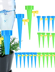 cheap -Automatic Drip Irrigation Tool Spikes Automatic Flower Plant Garden Watering System Kit Adjustable Water Self-Watering Device