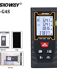 cheap -SNDWAY-g4s Laser Distance Meter Infrared Distance Meter 40m Handheld Design Easy to Use for Furniture Installation