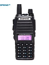 cheap -Baofeng UV-82 UHF/VHF 400-480 136-174MHz 8W Dual Band ANI Code DSP Two Way Radio Handheld Walkie Talkie Interphone LCD Display Dual Band with Flashlight Lighting