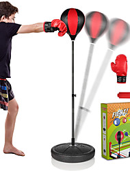 cheap -Punching Bag for Kids with Boxing Gloves  3-8 Years Old Adjustable Kid Punching Bag with Stand  Boxing Bag Set Toy for Boys & Girls  Freestanding Punching Ball Boxing Speed Bag