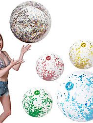 cheap -5 pcs/Set Confetti Glitter Inflatable Beach Balls,Sequin Beach Ball Outdoor Summer Water Fun Pool Toys Party Balls Birthday Party Favors,Gifts for Kids Adults