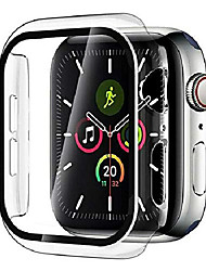 cheap -Smart watch Case + tempered glass screen protector for apple watch series 6 SE 5 4 (40mm)  superguardz heavy duty slim shockproof protective cover armor CASE