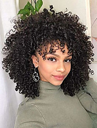 cheap -elim curly wigs for women short hair afro kinky african american wigs synthetic heat resistant wigs with wig cap z092a
