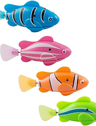 cheap -electronic fish pets animal kids bath toys gifts water activated swim tub bathtub (8 fish)
