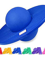 cheap -Pogo Ball, Fun Hopper Sports High Balance Bounce Jump Board Ball Platform Fitness Ball for Kids Ages 6 Up and Adults - Holds up to 220 LB