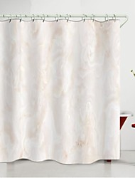 cheap -Marble Pattern Digital Printing Shower Curtain Shower Curtains  Hooks Modern Polyester New Design
