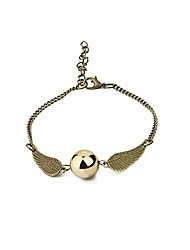 cheap -harry potter vintage bracelet set time turner deathly hallows golden snitch bracelet for harry potter fans gifts collection or decorations magical cosplay costume jewelry accessories