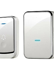 cheap -Wireless One to One Doorbell Music Sound adjustable Surface Mounted