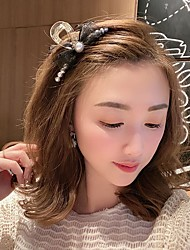 cheap -bow hairpin, bangs, clip, pearl hair, temperament, young lady, shark clip, back of head, hairpin, simple hair accessories