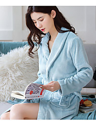 cheap -night gown female bathrobe source factory goods flannel coral fleece plus size pajamas new autumn and winter long ladies night gown