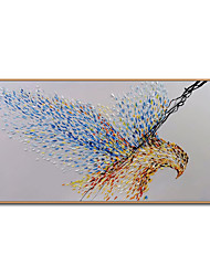 cheap -Oil Painting Handmade Hand Painted Wall Art Mintura Eagle Animal Home Decoration Decor Rolled Canvas No Frame Unstretched