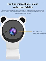 cheap -1080P Mini Cute USB Web Camera with Microphone Auto Focus Computer Web Cam for Live Broadcast Video PC Laptop
