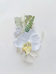 """cheap -Wedding Flowers Boutonnieres Event / Party / Wedding Party Artificial Flower 7.09""""(Approx.18cm)"""