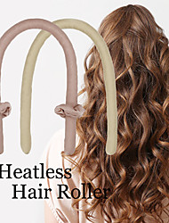 cheap -Lazy Sleeping Curly Hair Artifact No Heat Curling Stick Large Intestine Hair Tie Clip Three-piece Pearl Cotton Hair Curling Hairdresser