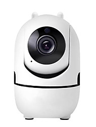 cheap -Wifi Camera 1080P Mini Indoor Night Vision with Auto Tracking Baby Monitor Ptz Ycc365plus Support Dropshipping