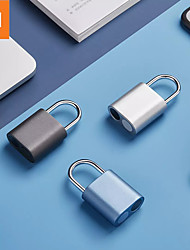 cheap -Xiaomi Fingerprint Padlock  One Touch Open IPX7 Waterproof From Xiaomi System For Smart Home NOC LOC