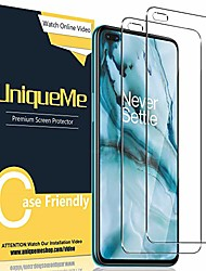 cheap -Phone Screen Protector For One Plus OnePlus 9 OnePlus 8 Pro OnePlus 8 OnePlus 7T Oneplus 7 Tempered Glass 2 pcs High Definition (HD) Ultra Thin Scratch Proof Front Screen Protector Phone Accessory