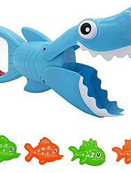 cheap -Shark Bath Toy Bathub Toys Shark Grabber with Teeth Biting Action Include 4 Toy Fish Shark Swim Toys Preschool Bath Toys for Kids Boys Girls Toddlers Age 3+