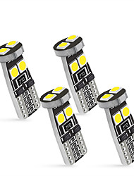 cheap -OTOLAMPARA 4 in1 Car 158 194 W5W LED Interior Dome Reading Lamp CAN-bus T10 LED Bulb 6000K 6W Car Map Light White Color Lightness 4pcs