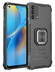 cheap -Phone Case For OPPO Back Cover Realme 7 Realme 7 Pro OPPO F17 Pro Realme C17 realme c15 Realme C12 Realme 7i OPPO A5S Oppo A72 / A52 / A92 Oppo A8 / A31 Shockproof Dustproof Solid Colored TPU