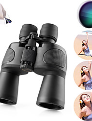 cheap -NIKULA 8-32 X 50 mm Binoculars Lenses Outdoor Antiskid Adjustable Carrying Case 3.8-1.6 m Multi-coated BAK4 Performance Outdoor Exercise Hunting and Fishing