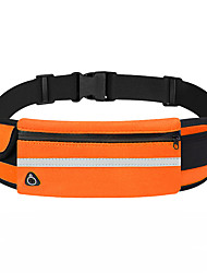 cheap -Hiking Waist Bag Multifunctional Waterproof Lightweight Breathable Outdoor Hiking Running Fitness Oxford Cloth Blue Dark Gray Royal Blue / Marathon
