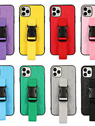 cheap -Bracelet Phone Case For Apple iPhone 12 Pro Max 11 SE 2020 X XR XS Max 8 7 Colorful Lanyard Armband Back Cover WIth Phone Holder