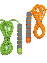 cheap -Adjustable Soft Skipping Rope with Skin-Friendly Foam Handles for Kids Children Students and Adults - Orange & Green-Adjustable Soft Skipping Rope with Skin-Friendly Foam Handles for Kids Children