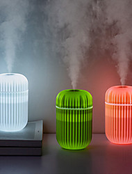 cheap -Air Humidifier Soft LED Light Cactus Ultrasonic Aroma Essential Oil Diffuser for Home Car USB Mini Air Purifier