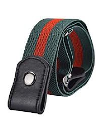 cheap -Women's Waist Belt Daily Sports Black White Belt Solid Color / Basic / Blue / Winter / Spring / Summer