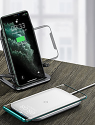 cheap -BASEUS 15 W Output Power Other Fast Charger Phone Charger Wireless Charger Wireless Charger Fast Charge For Universal Cellphone