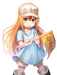 cheap -working cell platelet face long straight hair cos anime wig anime wig cosplay role playing