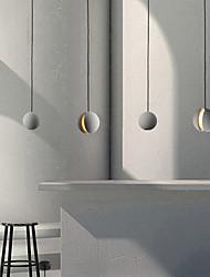 cheap -LED Pendant Light 10 cm Cluster Design Single Design Pendant Light Ceramic Painted Finishes Vintage Nordic Style 220-240V