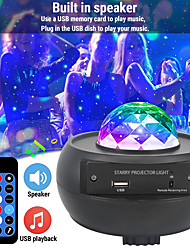 cheap -Star Galaxy Projector Light Auto-Off Timer Ocean Wave Projector Party Wedding Gift Multi Color