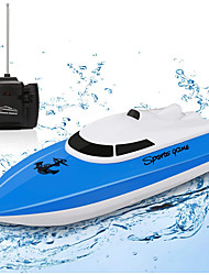 cheap -Remote Control Boat for Pools and Lakes,12+ mph RC Boat with 1 Rechargeable Battery, 2.4 GHz Lake Toys Remote Control Boats for Kids (Only Works in Water)