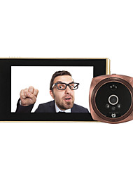 cheap -4.3 inch LCD display screen Smart visual peephole 1080P electronic peephole doorbell C13 anti-theft video doorbell
