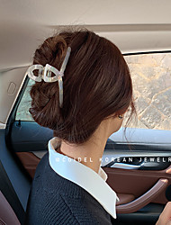 cheap -korea acetate clamp back head hairpin french retro mermaid color hair claw headdress hairpin female cross-border shark clip