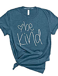 cheap -psalm life be kind cute heart inspirational t-shirt - unisex casual funny graphic tee (small, heather deep teal)