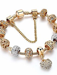 cheap -la raffine luxury crystal heart charm bracelets&bangles gold bracelets for women jewellery pulseira feminina bracelet gifts for women girl gifts valentines/birthday/anniversary/mother's day