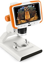 cheap -5-inch 200 Times Digital Microscope Students Popular Science Educational