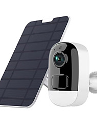 cheap -3MPHD Outdoor Wireless Security IP Camera Wireless Battery Camera Solar Powered 2-Way Audio PIR Detection Camera IP66 Waterpoorf