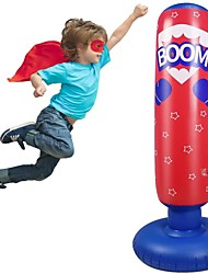 cheap -Inflatable Punching Bag 52 Inch Standing Boxing Bag for Kids Free Standing Boxing Toy for Kids
