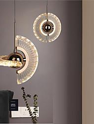 cheap -LED Pendant Light Bedside Light 18cm Island Light Acrylic Anodized Modern Nordic Style Restaurant Droplight 110-240V