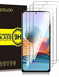 cheap -Phone Screen Protector For Xiaomi Mi 11 Xiaomi Mi 10 Mi 10T Pro 5G Mi 10T 5G Mi 10T Lite 5G Tempered Glass 3 pcs High Definition (HD) Ultra Thin Scratch Proof Front Screen Protector Phone Accessory