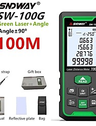 cheap -SNDWAY SNDWAY-swt100 Laser Mistance Meter Infrared distance meter 100m Handheld Design Easy to Use