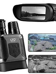 cheap -SIGNBACK 3.5-7 X 31 mm Binoculars Lenses LCD Display Carrying Case Night Vision Zoom 9 m Multi-coated BAK4 Performance Outdoor Exercise Military / Tactical