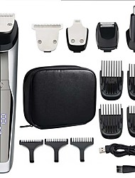 cheap -Hair Trimmer Multi-function Washing Electric Clipper LCD Digital Display Five-in-one Grooming Suit