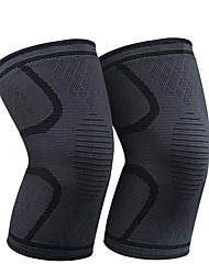 cheap -Compression Sleeve for Knee 2pcs/Pack Knee Brace-Knee Support Men and Women for Running Hiking Basketball Tennis Gym Weightlifting