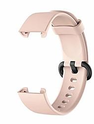 cheap -Smartwatch band bracelet compatible for xiaomi mi watch lite / redmi watch lite smart watch replacement silicone bracelet bracelet multicolor for women men