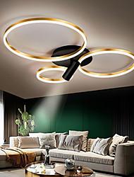 cheap -LED Ceiling Light 45/65/95 cm Geometric Shapes Flush Mount Lights Aluminum Artistic Style Modern Style Stylish Painted Finishes Artistic LED 220-240V